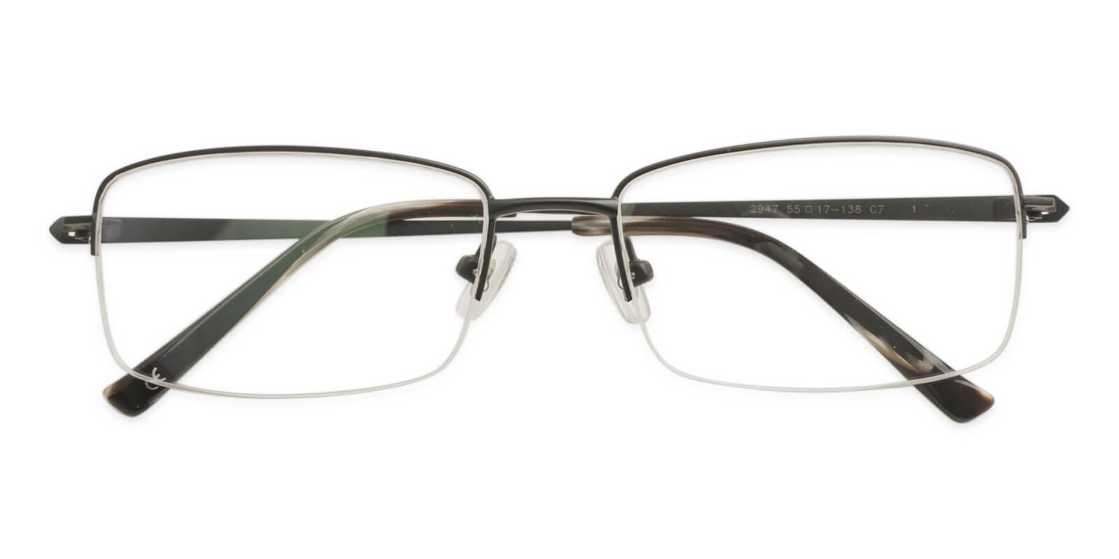 Oliver Black Titanium Eyeglasses , NosePads Frames from ABBE Glasses