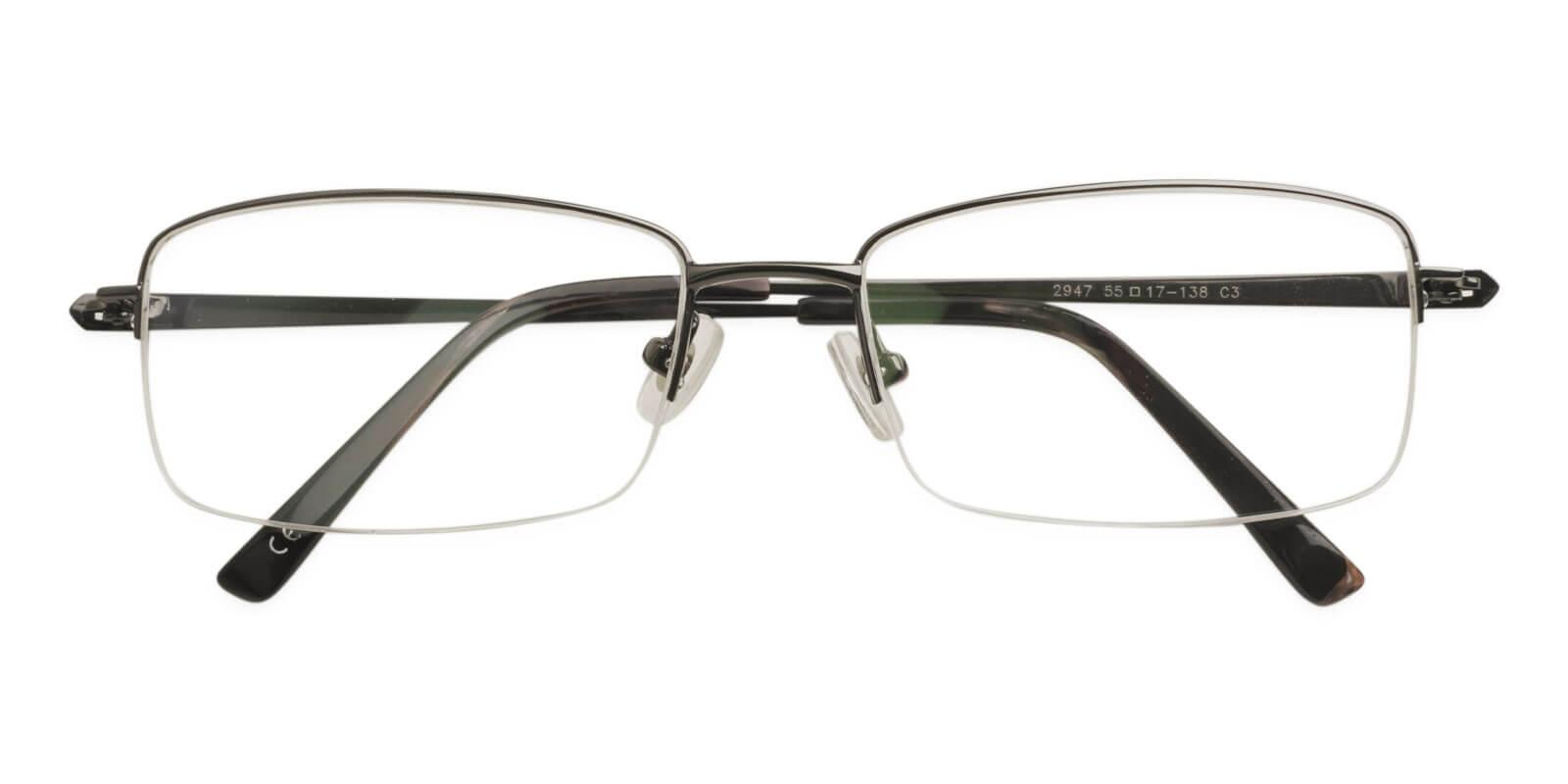 Oliver Gun Titanium Eyeglasses , NosePads Frames from ABBE Glasses