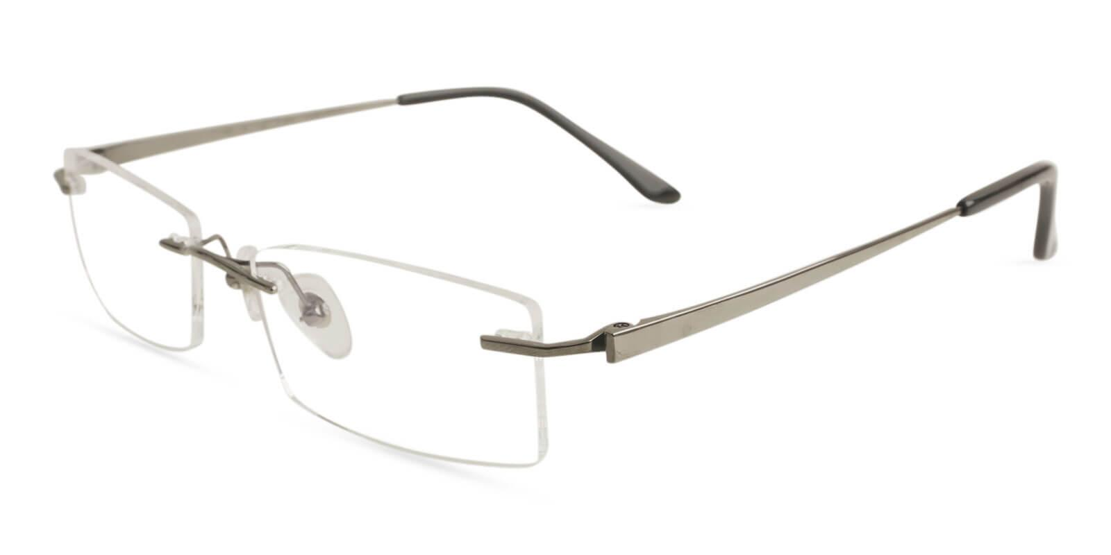 Bens Run Gun Titanium Eyeglasses , NosePads Frames from ABBE Glasses