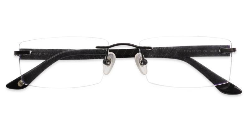 Bentonite - Titanium NosePads , Eyeglasses