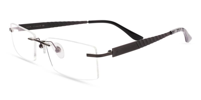 Gun Bentonite - Titanium NosePads , Eyeglasses