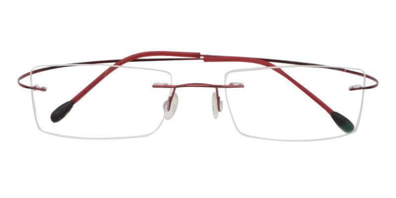Olivia - Metal , Memory Eyeglasses , NosePads
