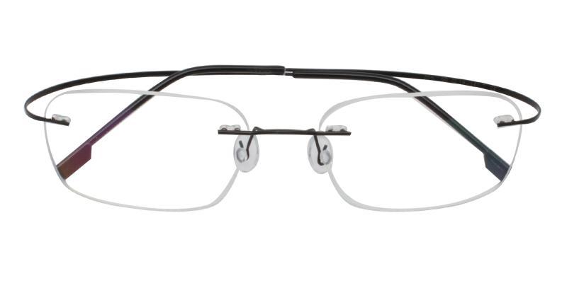 Black Elijah - Metal NosePads , Eyeglasses