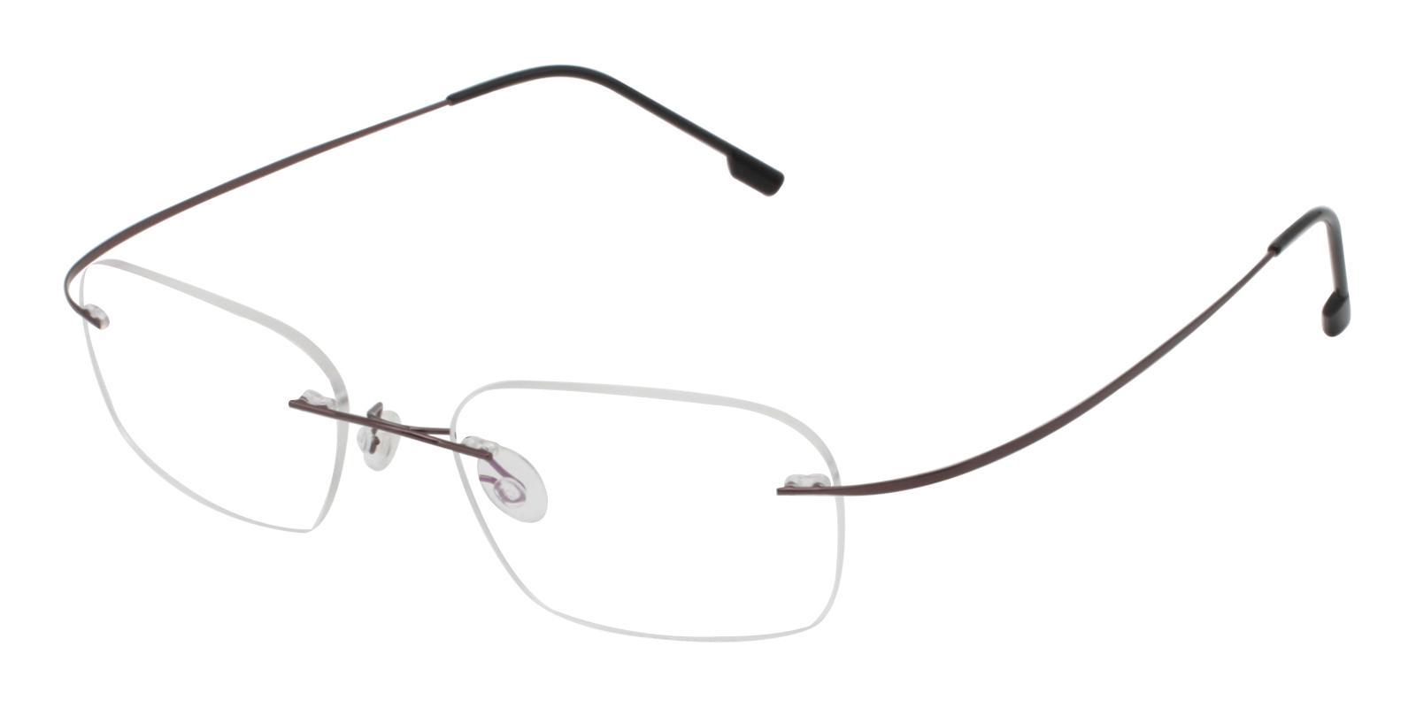 Elijah Gun Metal Eyeglasses , NosePads Frames from ABBE Glasses