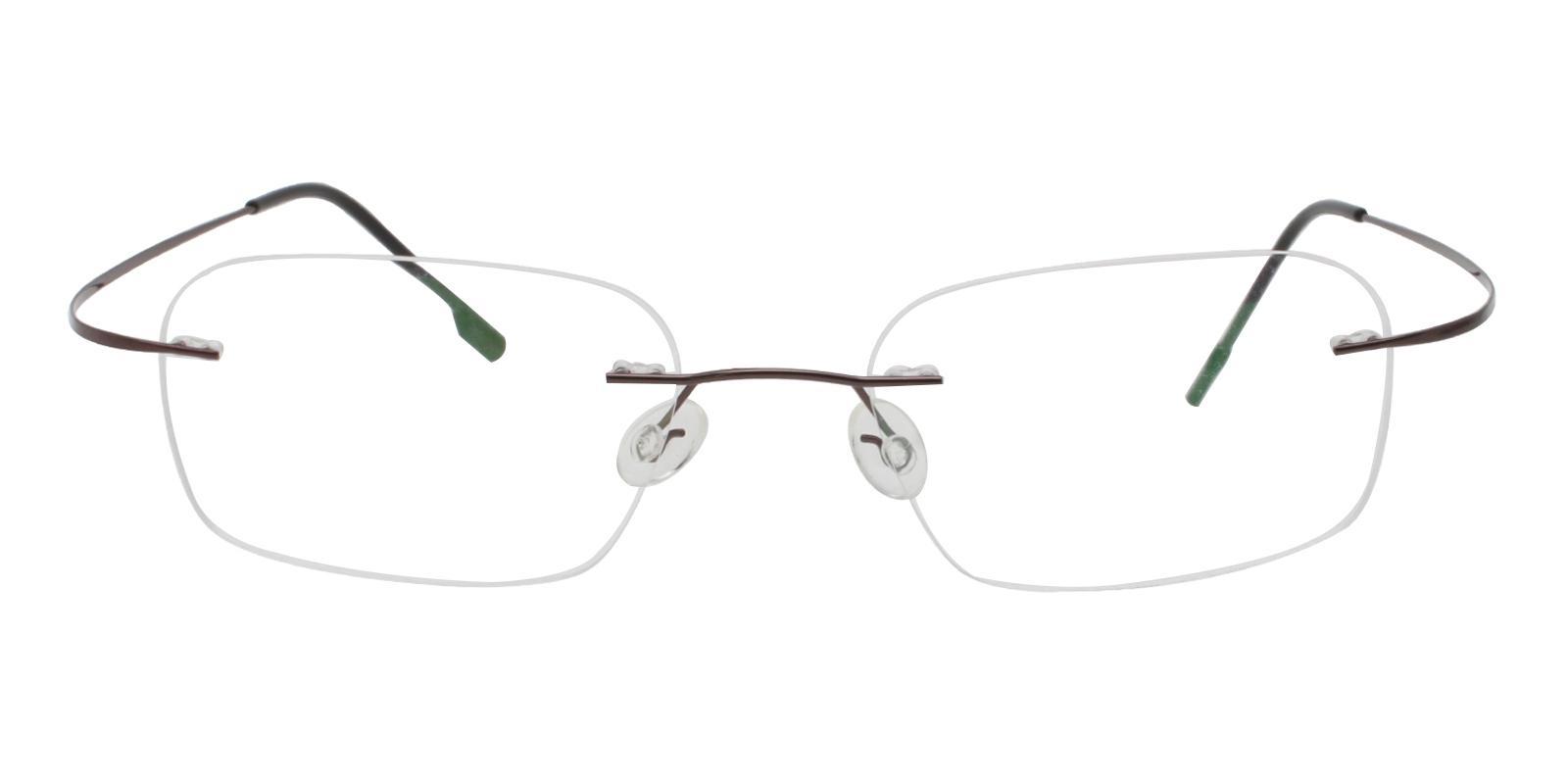 Elijah Gun Metal NosePads , Eyeglasses Frames from ABBE Glasses