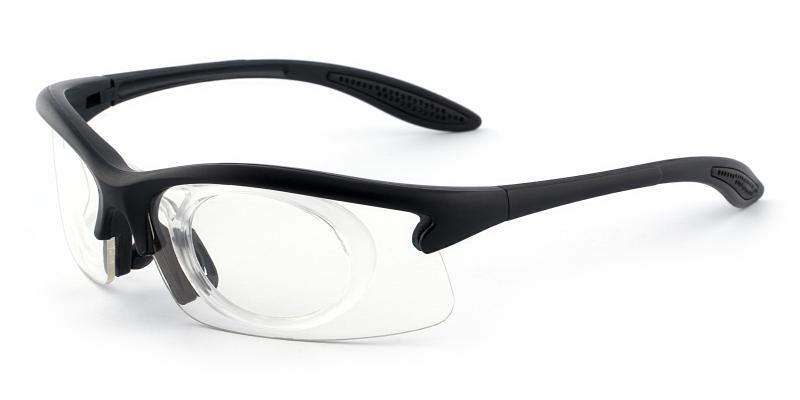 Black Guthrie Center - Plastic Sports Glasses