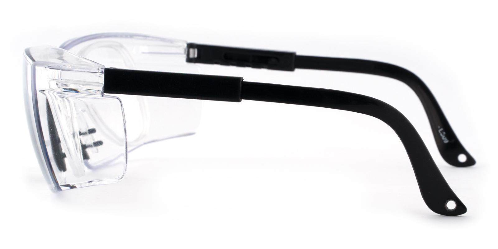Gates Mills Black Plastic SportsGlasses Frames from ABBE Glasses