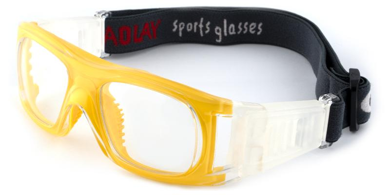 Yellow Christopher - Plastic Eyeglasses , SportsGlasses