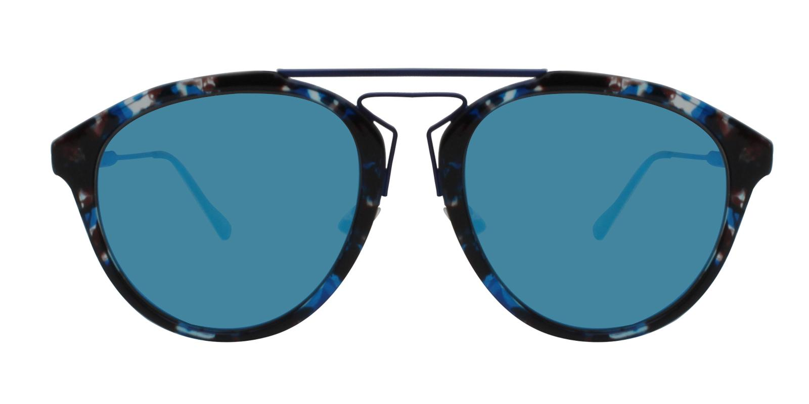 Ava Blue Metal , Combination , TR NosePads , Sunglasses Frames from ABBE Glasses