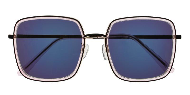 Translucent Mia - Metal , Combination , TR Sunglasses , NosePads