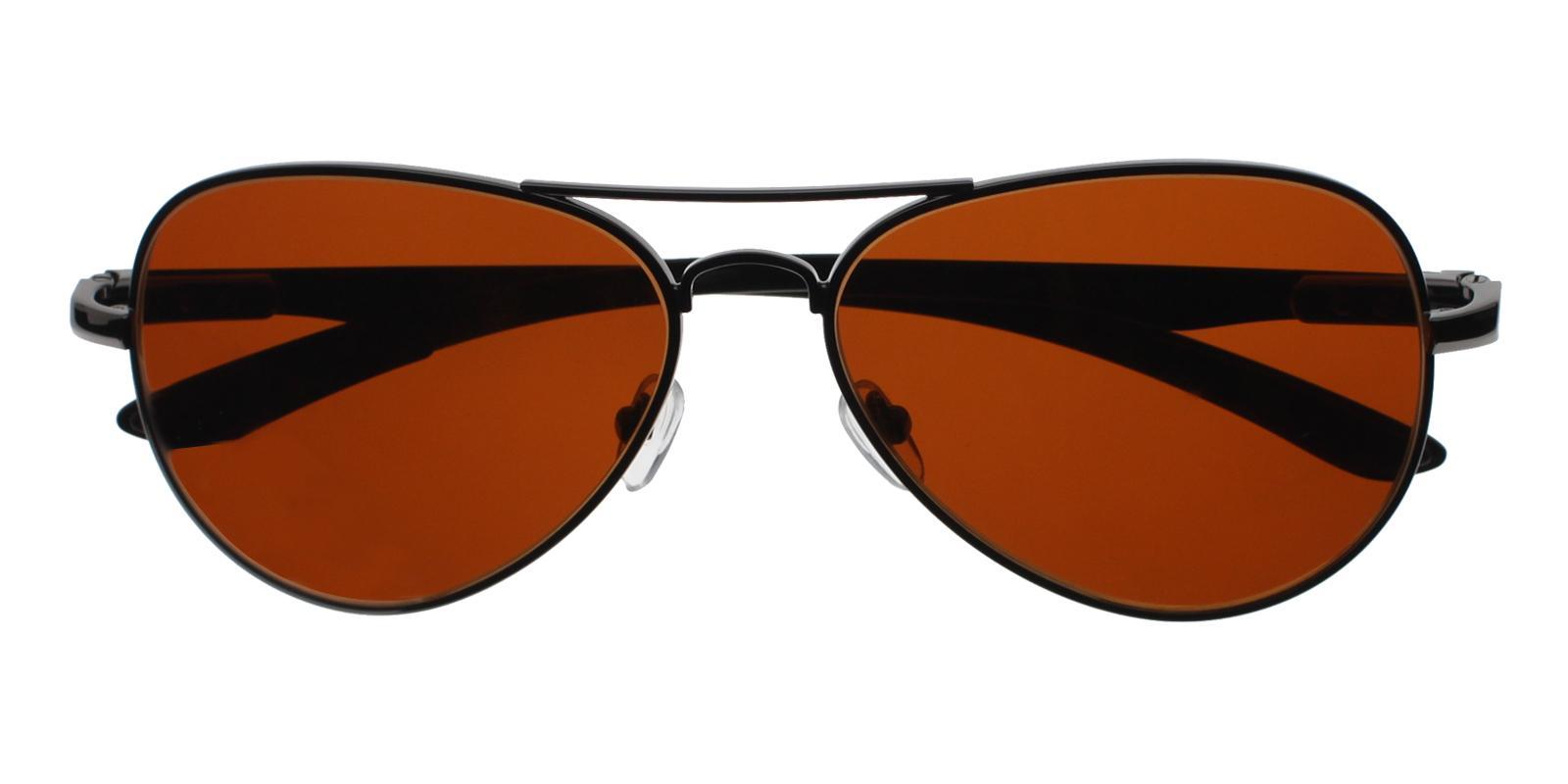 Logan Gun Metal NosePads , Sunglasses Frames from ABBE Glasses
