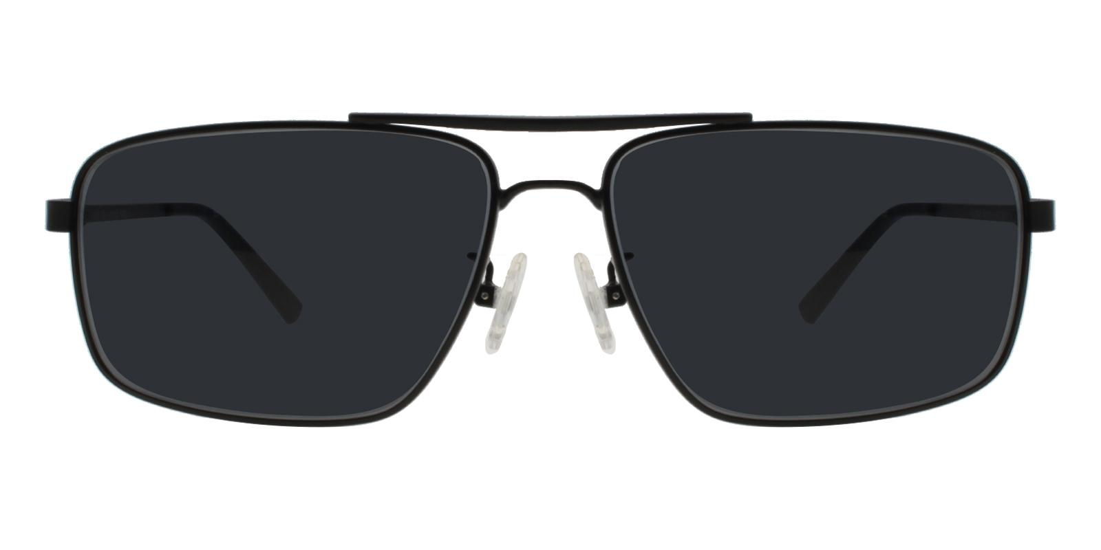 Ethan Black Metal NosePads , Sunglasses Frames from ABBE Glasses