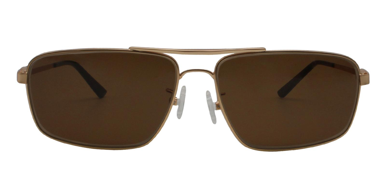 Ethan Gold Metal NosePads , Sunglasses Frames from ABBE Glasses