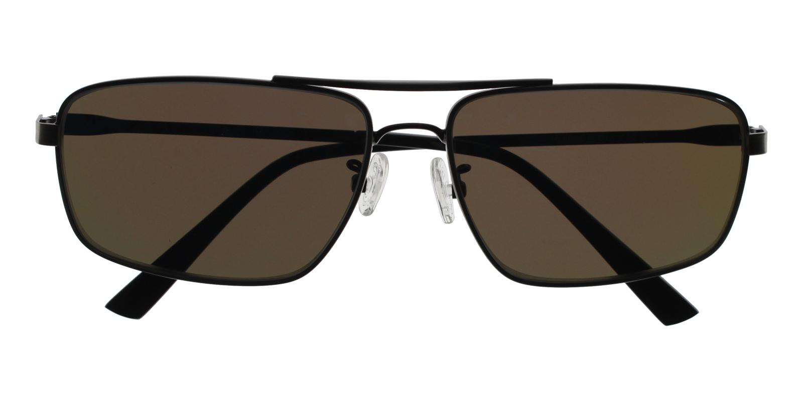Ethan Gun Metal NosePads , Sunglasses Frames from ABBE Glasses