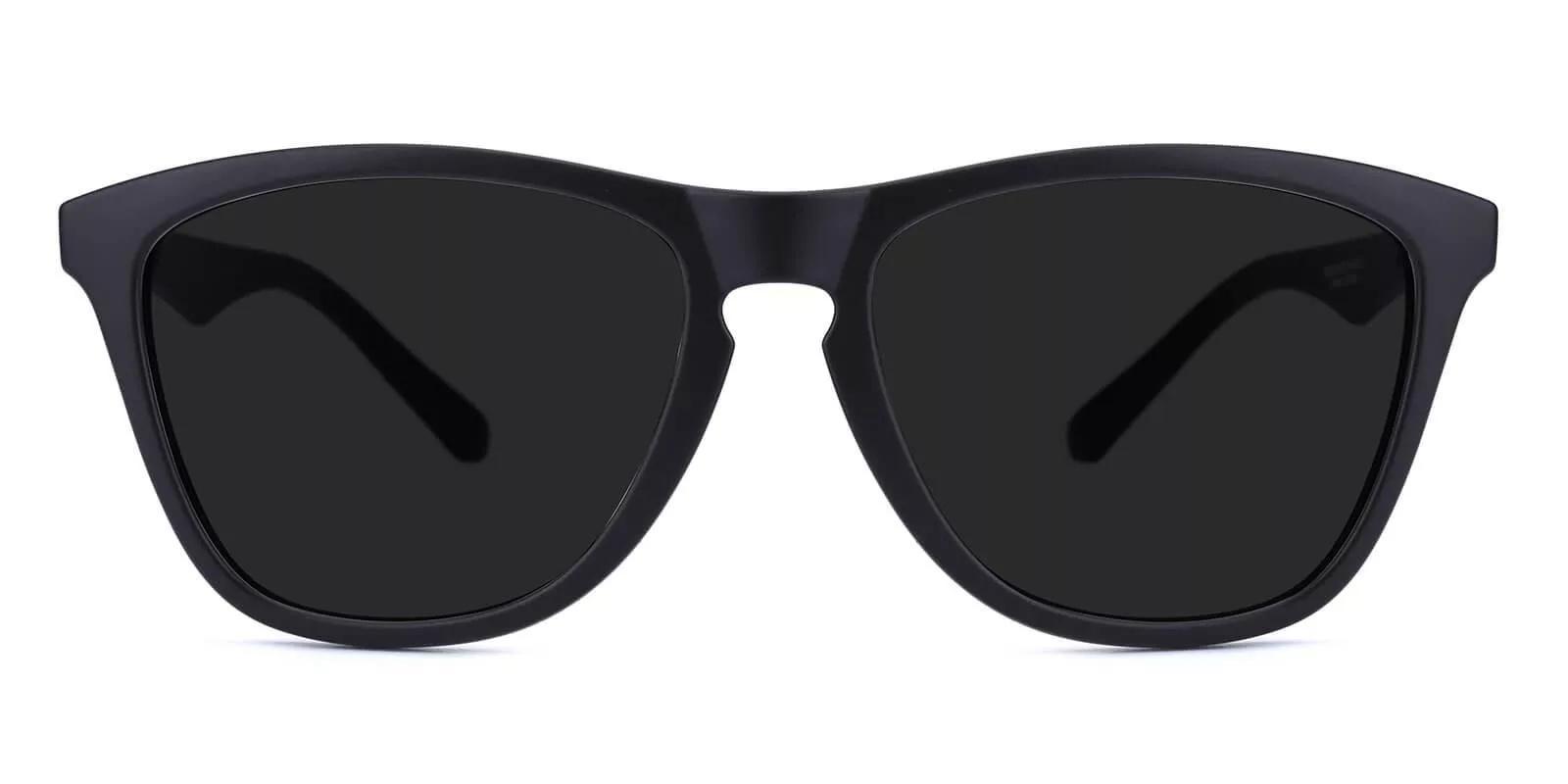 Bentleyville Black TR Sunglasses , UniversalBridgeFit Frames from ABBE Glasses