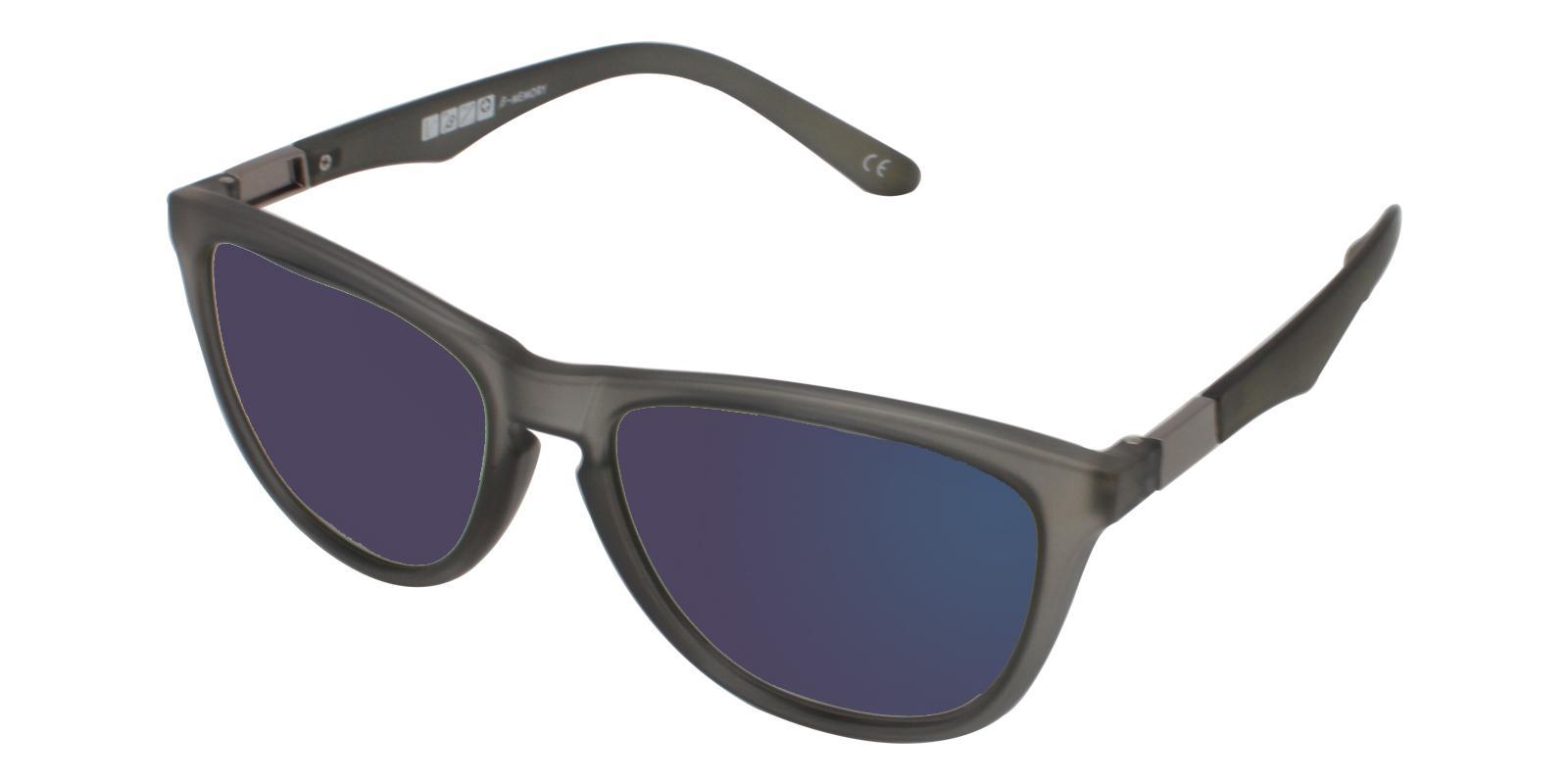 Bentleyville Gray TR Sunglasses , UniversalBridgeFit Frames from ABBE Glasses