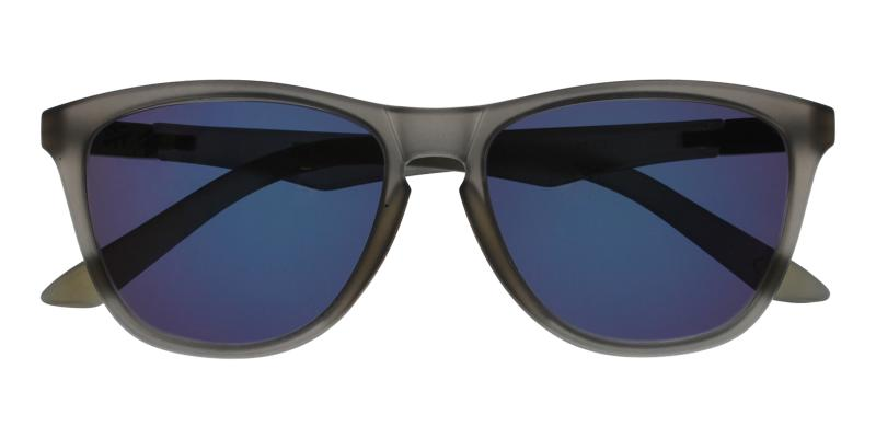 Gray Bentleyville - TR Sunglasses , UniversalBridgeFit