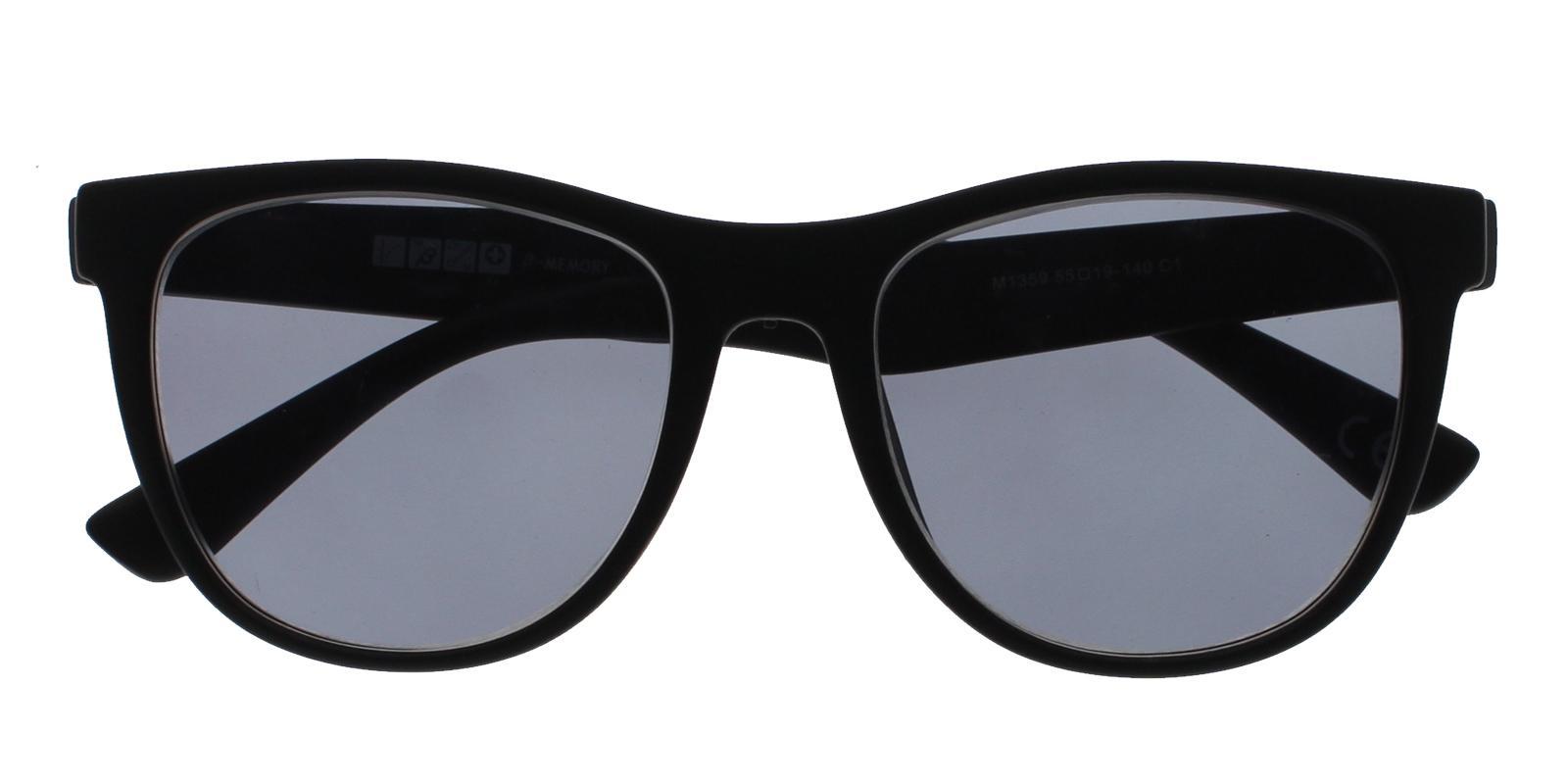 Hallstead Black TR Sunglasses , UniversalBridgeFit Frames from ABBE Glasses