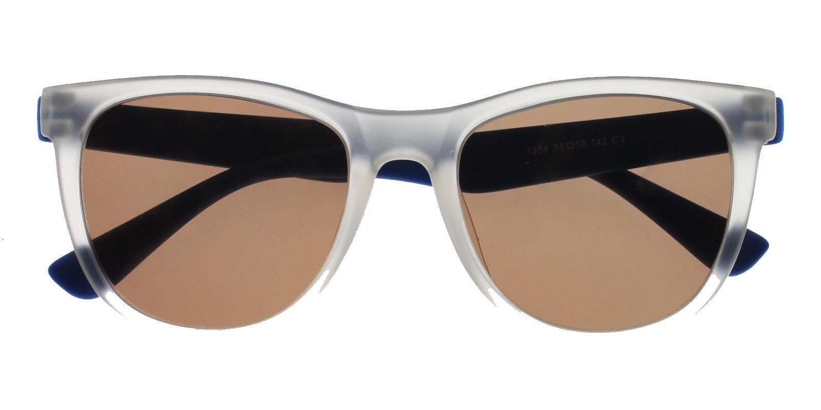 Hallstead Translucent TR Sunglasses , UniversalBridgeFit Frames from ABBE Glasses