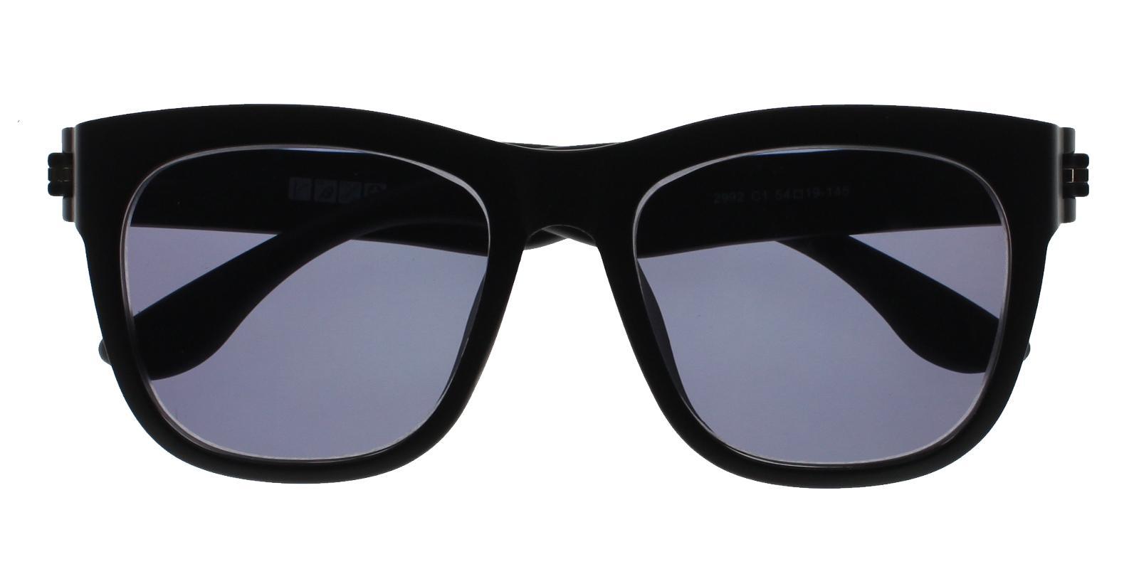 Satsuma Black TR Sunglasses , UniversalBridgeFit Frames from ABBE Glasses