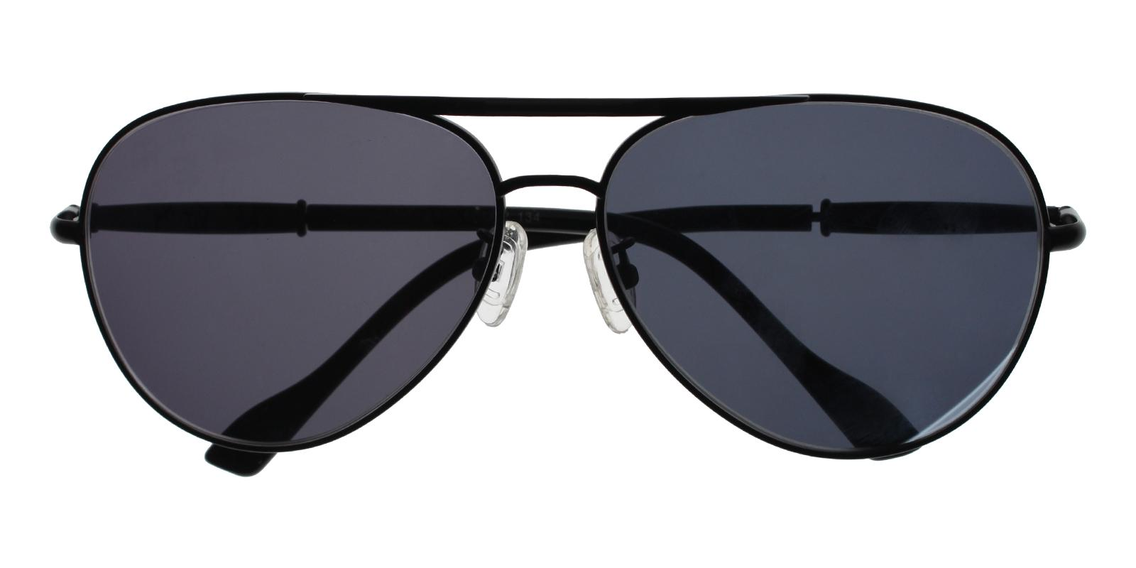 Edie Black Metal NosePads , Sunglasses Frames from ABBE Glasses