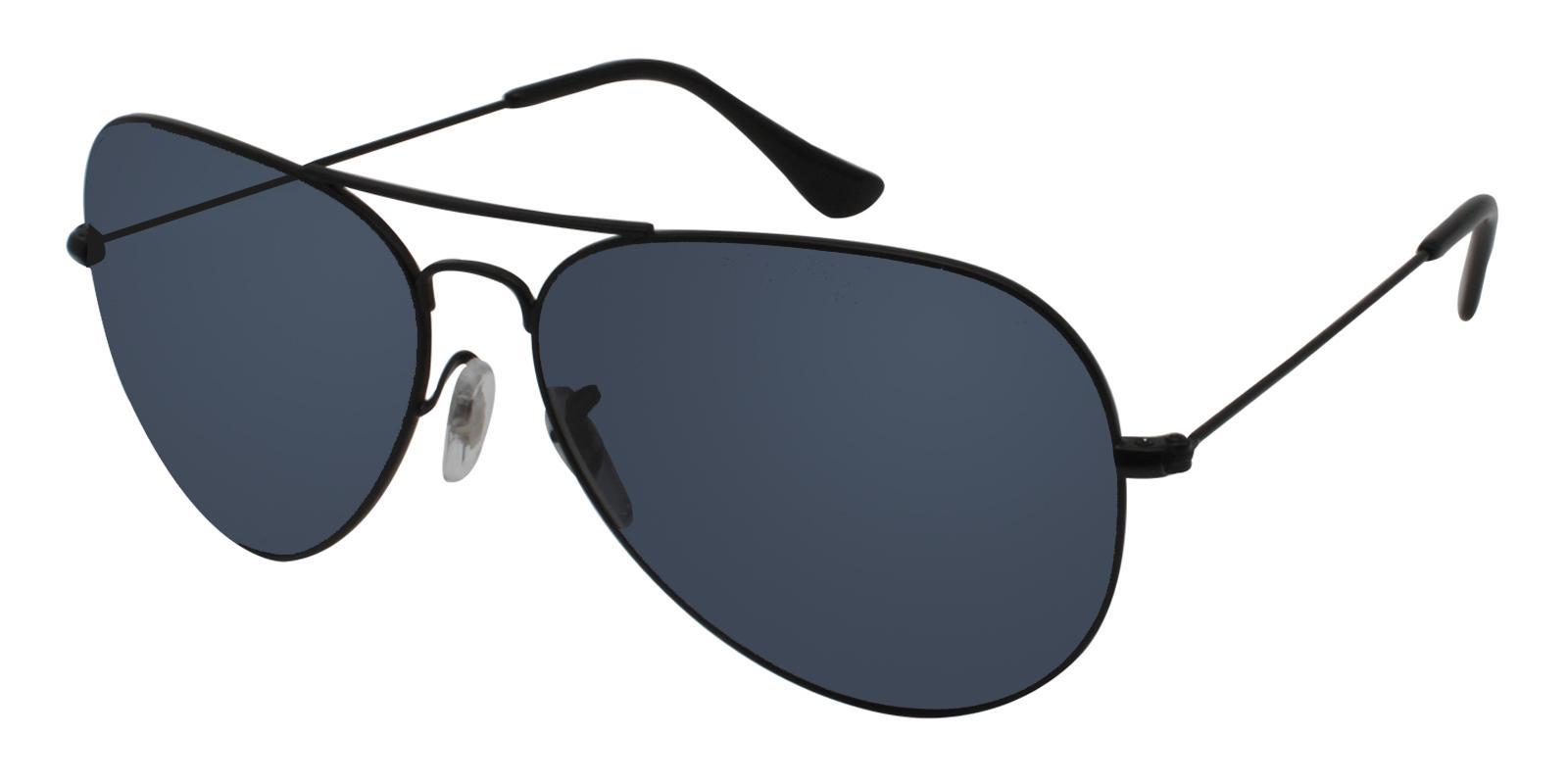 Harbor Black Metal Lightweight , NosePads , Sunglasses Frames from ABBE Glasses
