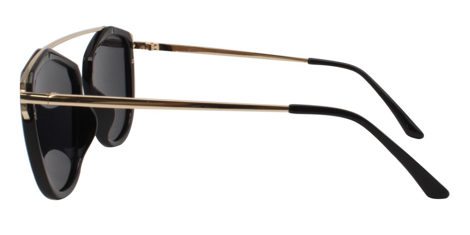 Harper Black Metal , Combination , TR UniversalBridgeFit , Sunglasses Frames from ABBE Glasses