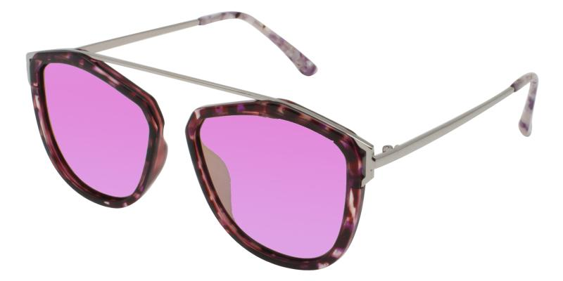 Leopard Harper - Metal , Combination , TR UniversalBridgeFit , Sunglasses