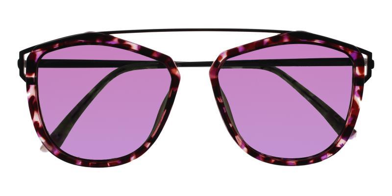 Leopard Harper - Metal , Combination , TR UniversalBridgeFit , Sunglasses