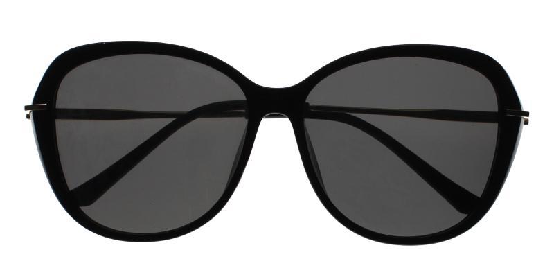 Black Mila - Metal , Combination , TR UniversalBridgeFit , Sunglasses