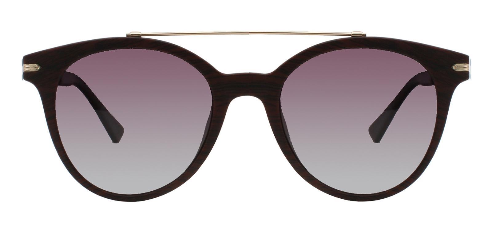 Aria Brown Metal , Combination , TR UniversalBridgeFit , Sunglasses Frames from ABBE Glasses