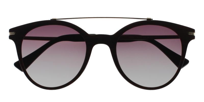 Brown Aria - Metal , Combination , TR UniversalBridgeFit , Sunglasses