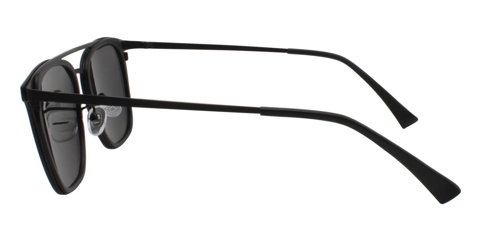 Avery Black Metal , Combination , TR NosePads , Sunglasses Frames from ABBE Glasses