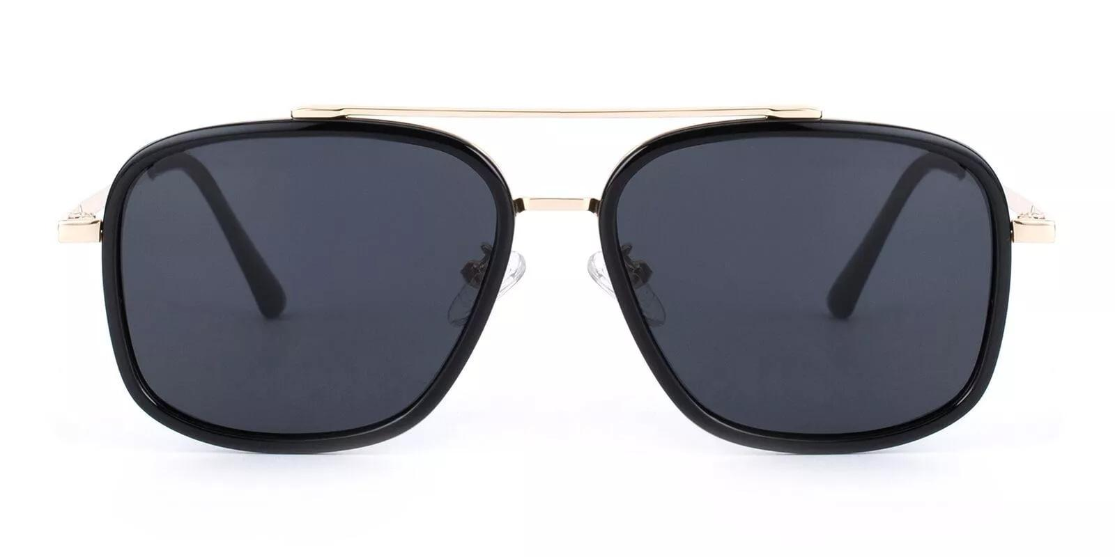 Lillington Black Metal , Combination , TR Sunglasses , NosePads Frames from ABBE Glasses