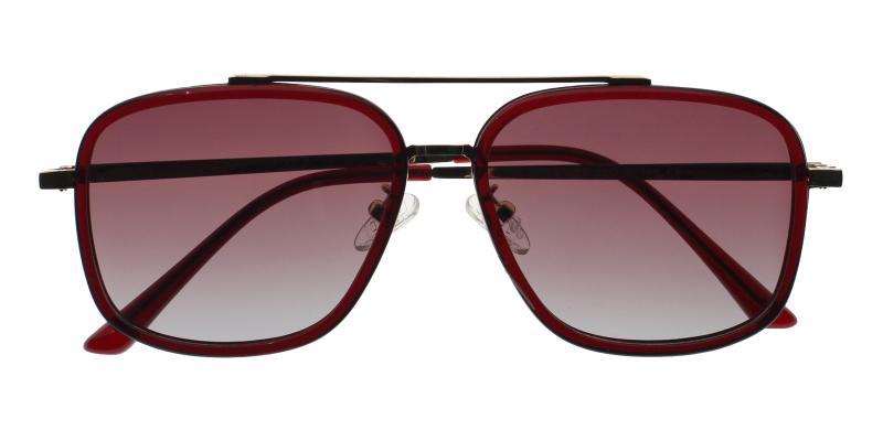 Red Lillington - Metal , Combination , TR Sunglasses , NosePads