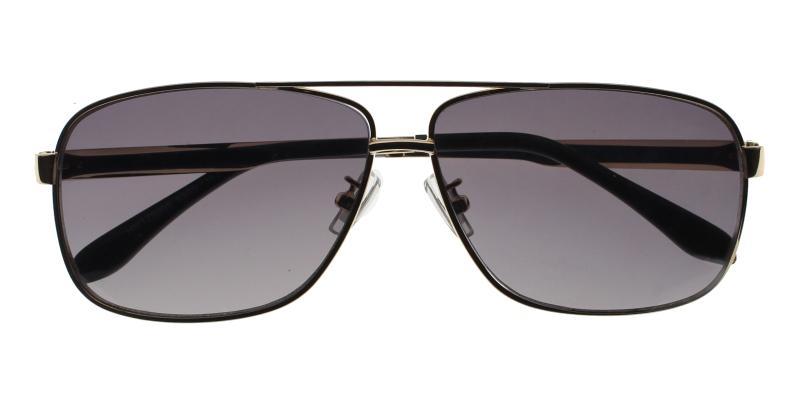Gold Jackson - Metal NosePads , Sunglasses