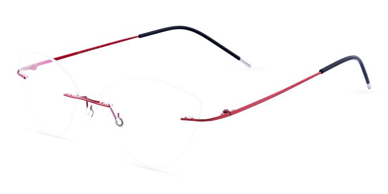 Red Huguenot - Metal NosePads , Eyeglasses
