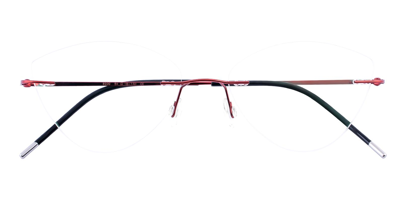 Huguenot Red Metal NosePads , Eyeglasses Frames from ABBE Glasses