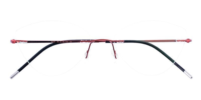 Red Huguenot - Metal NosePads , Eyeglasses