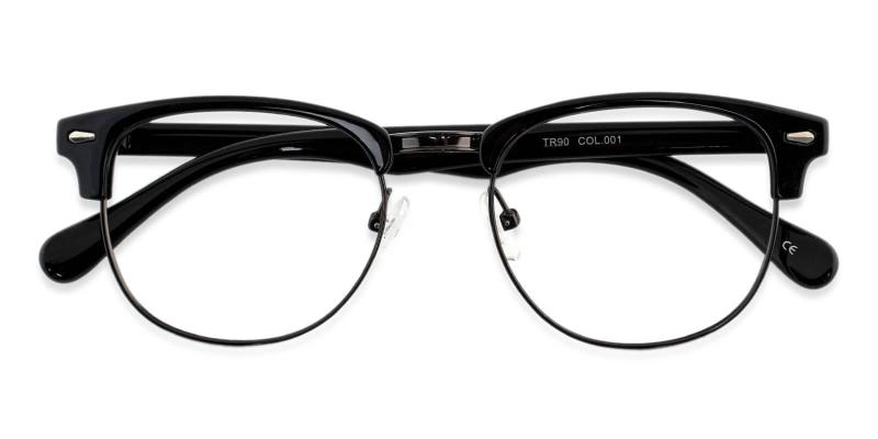 Chad - Metal , Combination , Plastic NosePads , Eyeglasses