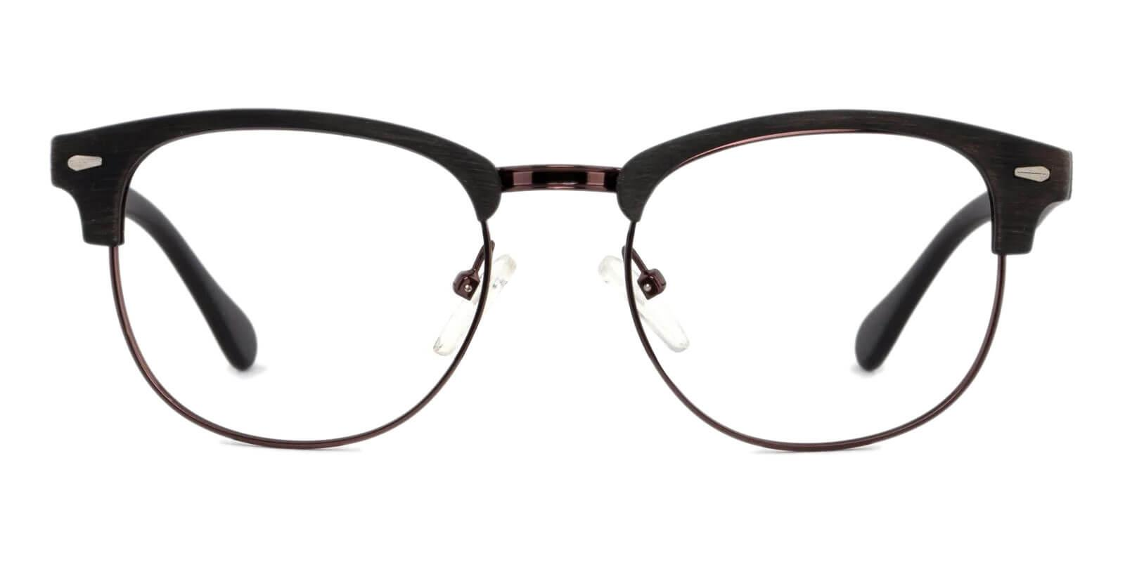 Chad Gun Metal , Combination , Plastic Eyeglasses , NosePads Frames from ABBE Glasses