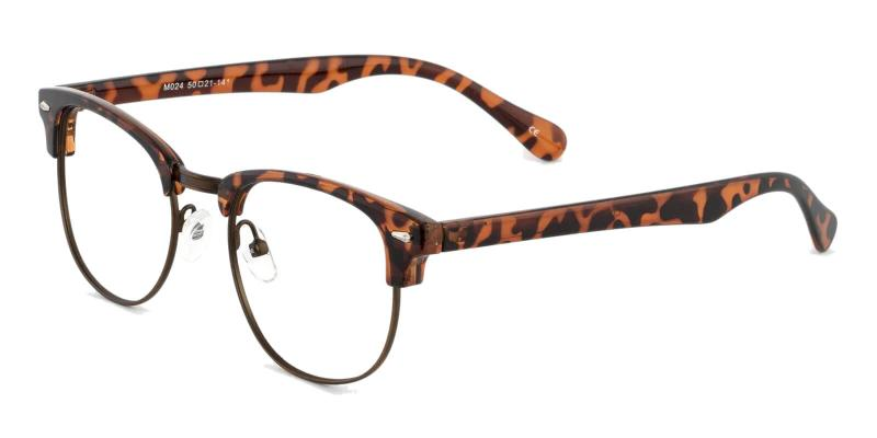 Leopard Chad - Plastic ,Eyeglasses