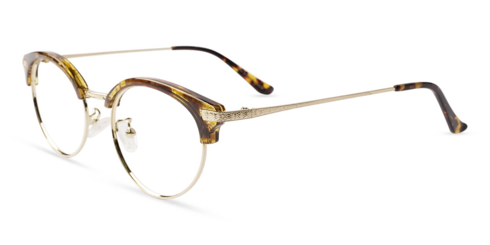 Idavada Leopard Metal , Combination , TR Eyeglasses , NosePads Frames from ABBE Glasses