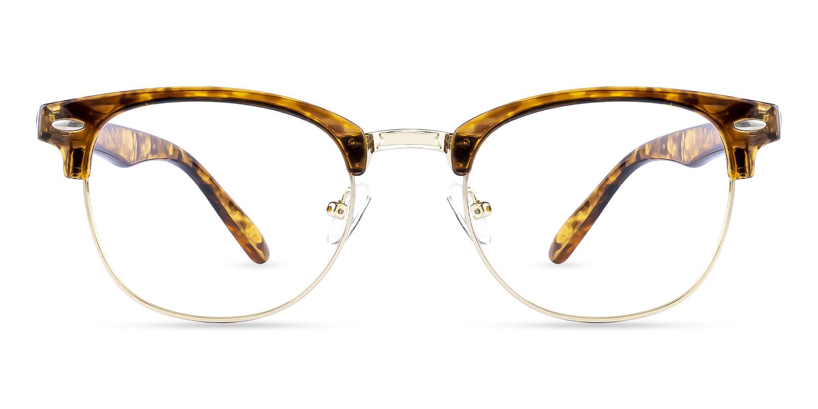 Greeley Gold Metal NosePads , Eyeglasses Frames from ABBE Glasses