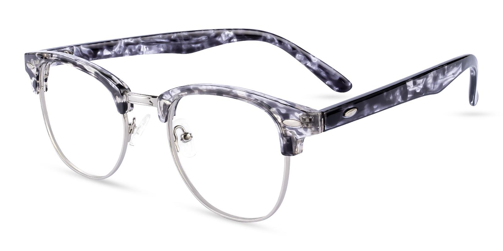 Greeley Pattern Metal Eyeglasses , NosePads Frames from ABBE Glasses