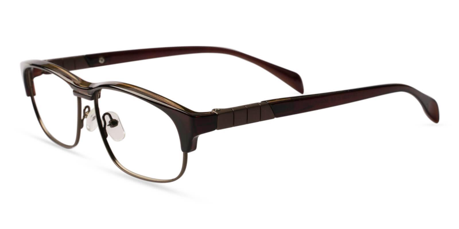 Joplin Leopard Metal , Combination , TR Eyeglasses , NosePads Frames from ABBE Glasses