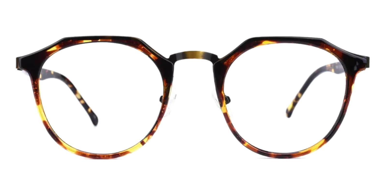 Escalante Leopard Metal , Combination , TR Eyeglasses , NosePads Frames from ABBE Glasses