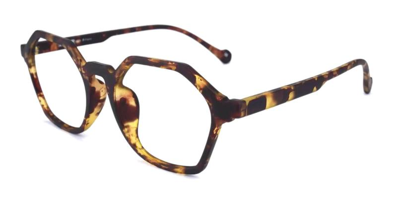 Tortoise Sofia - TR Eyeglasses , UniversalBridgeFit