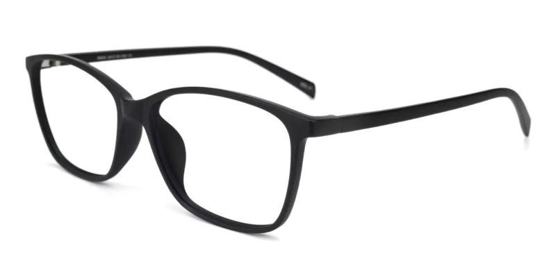 Black Alat Vista - TR Eyeglasses , Lightweight , UniversalBridgeFit