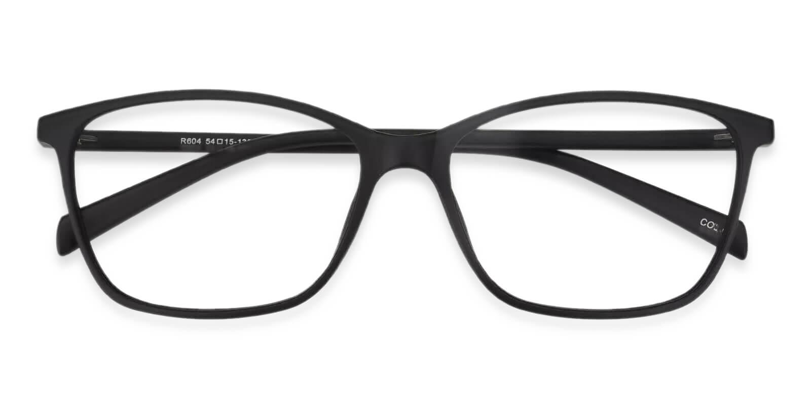Alat Vista Black TR Eyeglasses , Lightweight , UniversalBridgeFit Frames from ABBE Glasses